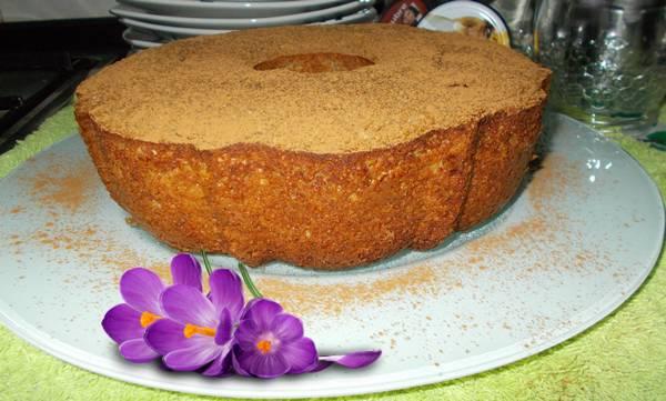 Receita de bolo de farelo de aveia com banana e canela