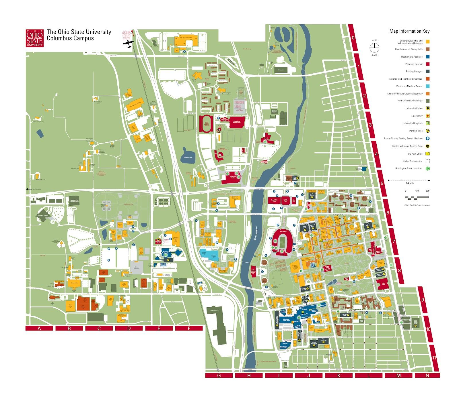photos of ohio state university medical center map