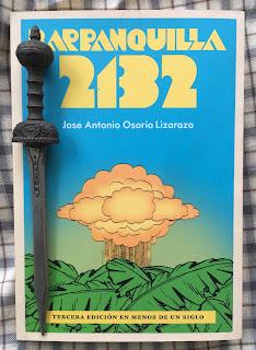 Portada del libro Barranquilla 2132, de José Antonio Osorio Lizarazo