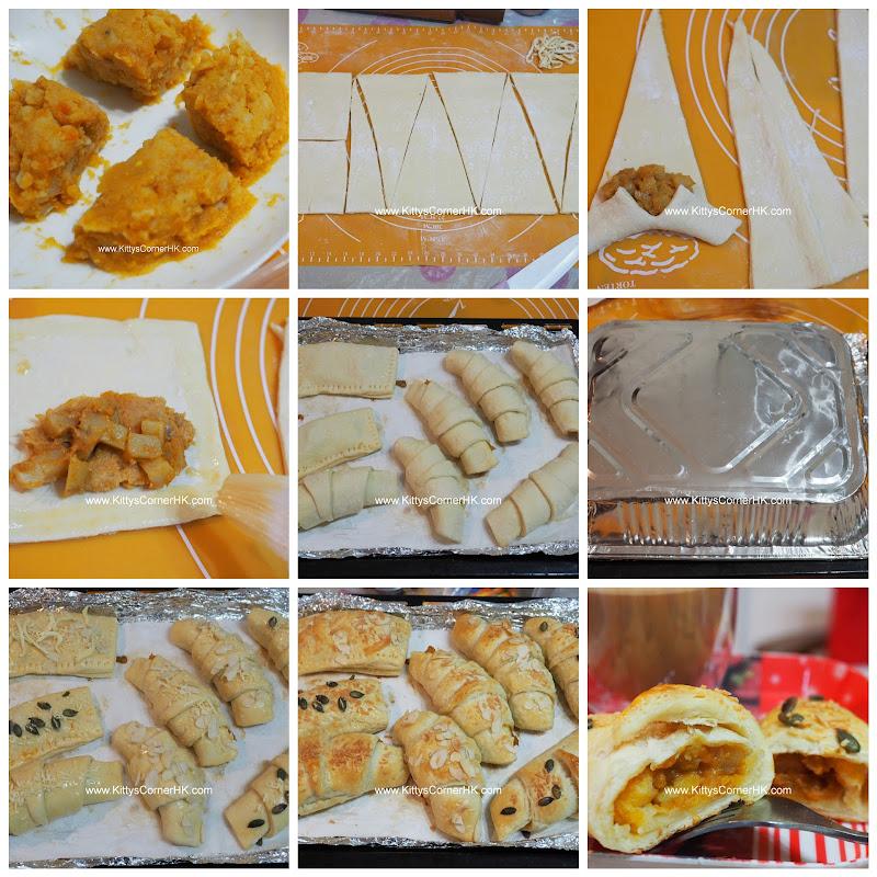 Curry Potato Savory Pastry DIY recipe 咖哩薯仔酥 自家烘焙食譜