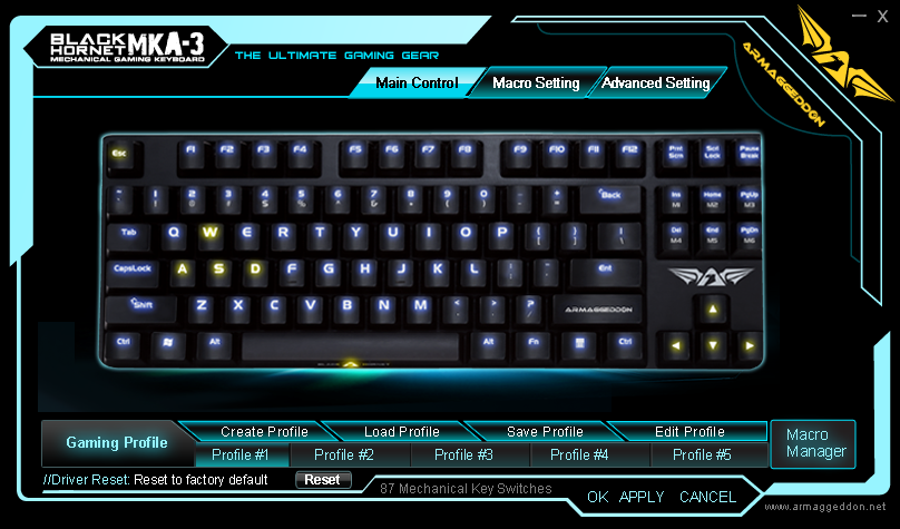 Unboxing & Review: Armaggeddon Black Hornet MKA-3 Mechanical Gaming Keyboard 17