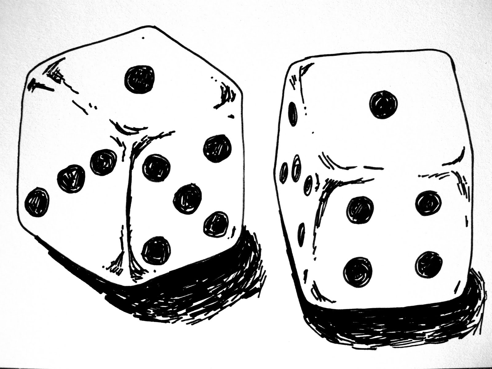 Image result for snake eyes dice drawing