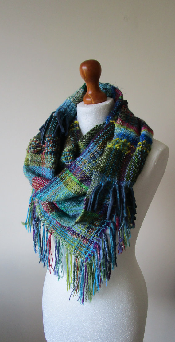 knot cha ch 225 handwoven scarves from etsy