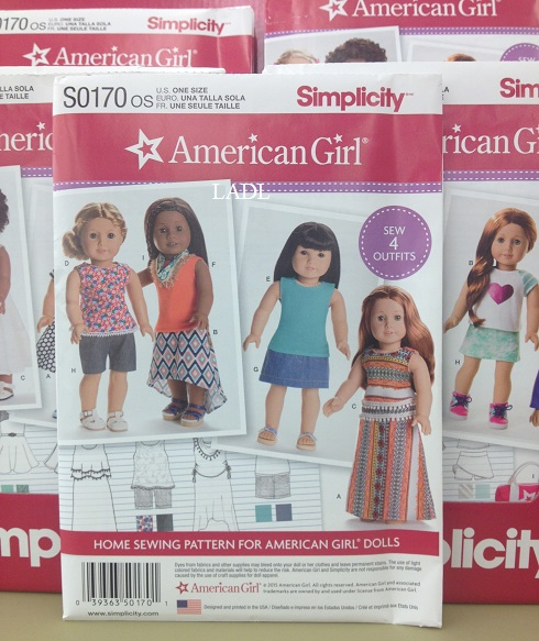 Living A Doll\'s Life : AG Simplicity Patterns + New Learn to Sew ...