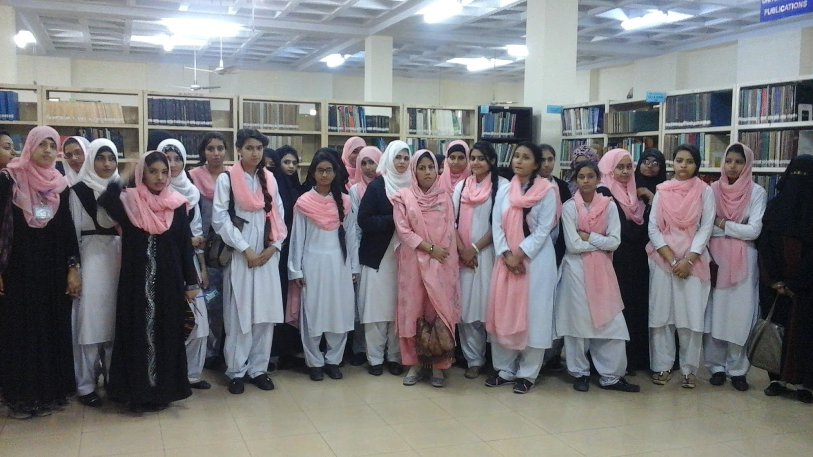 Punjab University Library Govt Girls College Wahdat Road, Lahore-9030