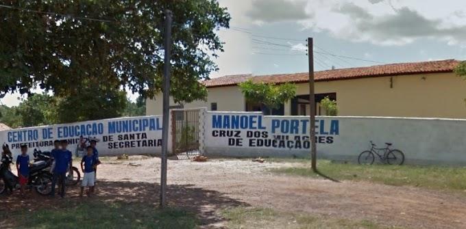 AVANÇO: Prefeitura de Santa Cruz dos Milagres (PI) investe na recuperação de escolas