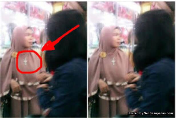 Wanita Bertudung Memakai Tanda Salib! [2].jpg