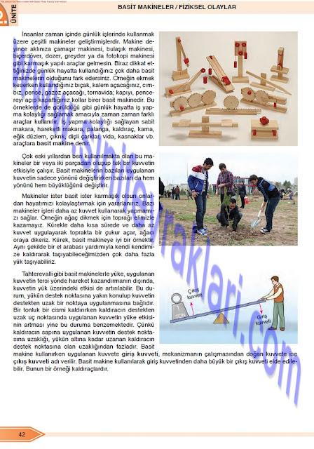 Öğün Yayınları 8. Sınıf Fen Bilimleri Ders Kitabı Cevapları Sayfa 42