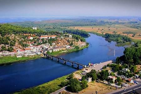 lumi buna shkoder scutari fiume albania
