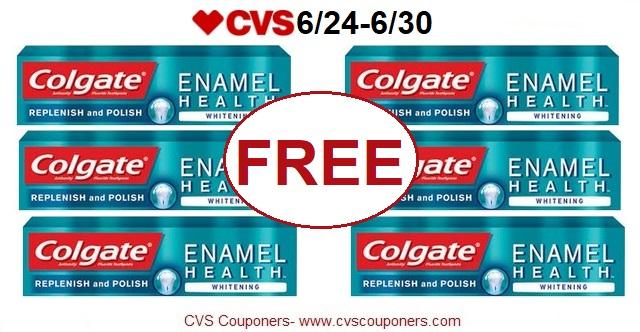 http://www.cvscouponers.com/2018/06/free-colgate-enamel-health-toothpaste.html