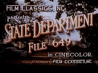 Película Departamento de estado - Oriente 649 Online