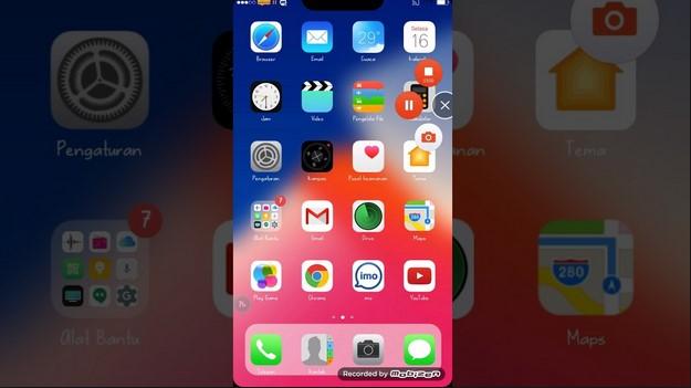 Tema Oppo F5 - iPhone X