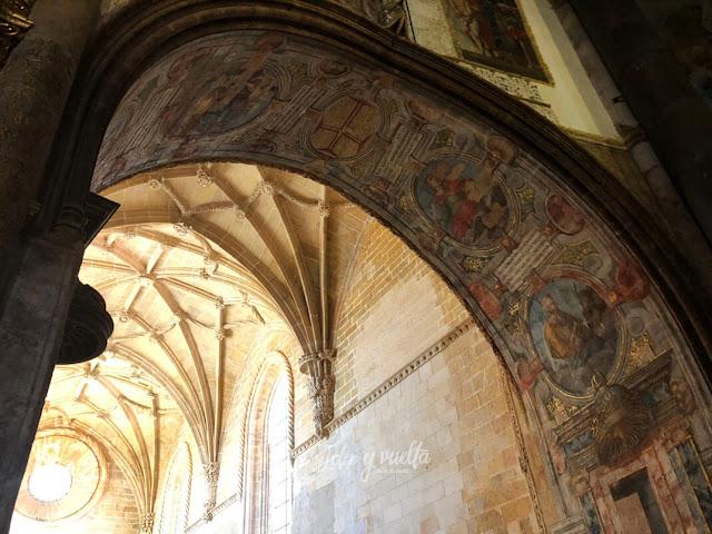 Convento de Cristo de Tomar Iglesia manuelina