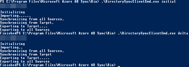 Azure AD connect force password sync | PowerON - IT Services