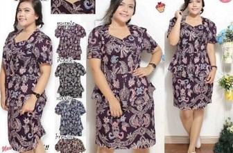Model Baju Atasan Terbaru Untuk Wanita Gemuk