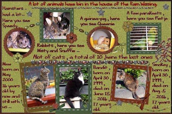 Oct.2016 ATC , All our animals in house Wissing