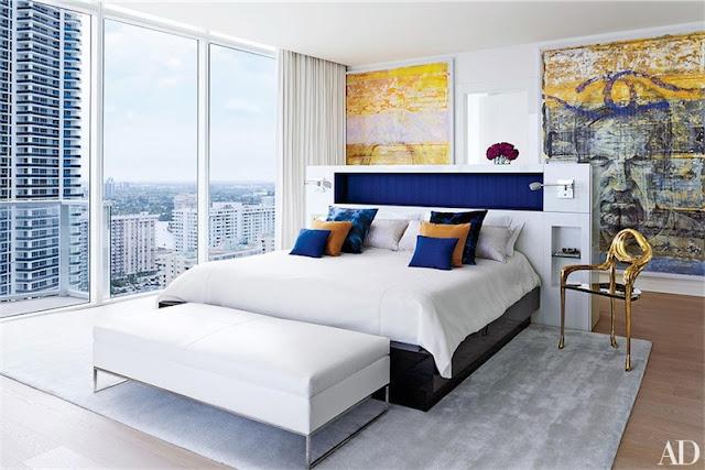 dormitorio con vistas a Florida chicanddeco