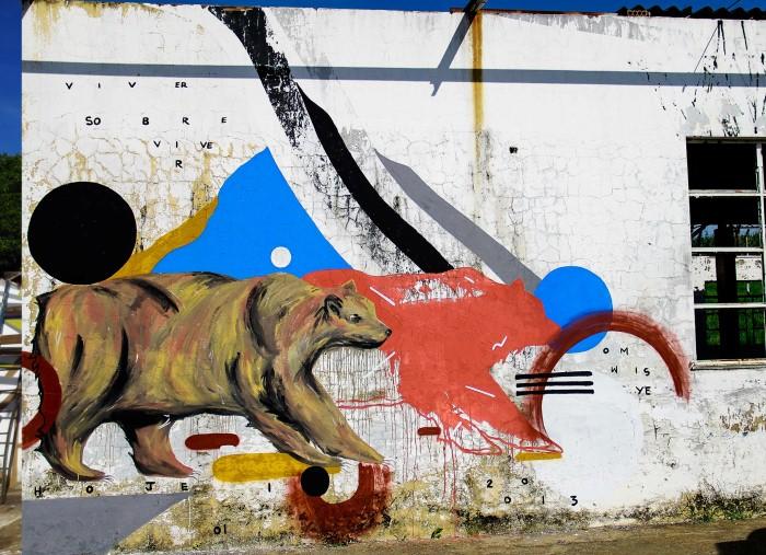 Уличный художник. Zeh Palito 23