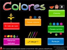 juego on line educativo sobre los colores hacer click en la imagen para entrar