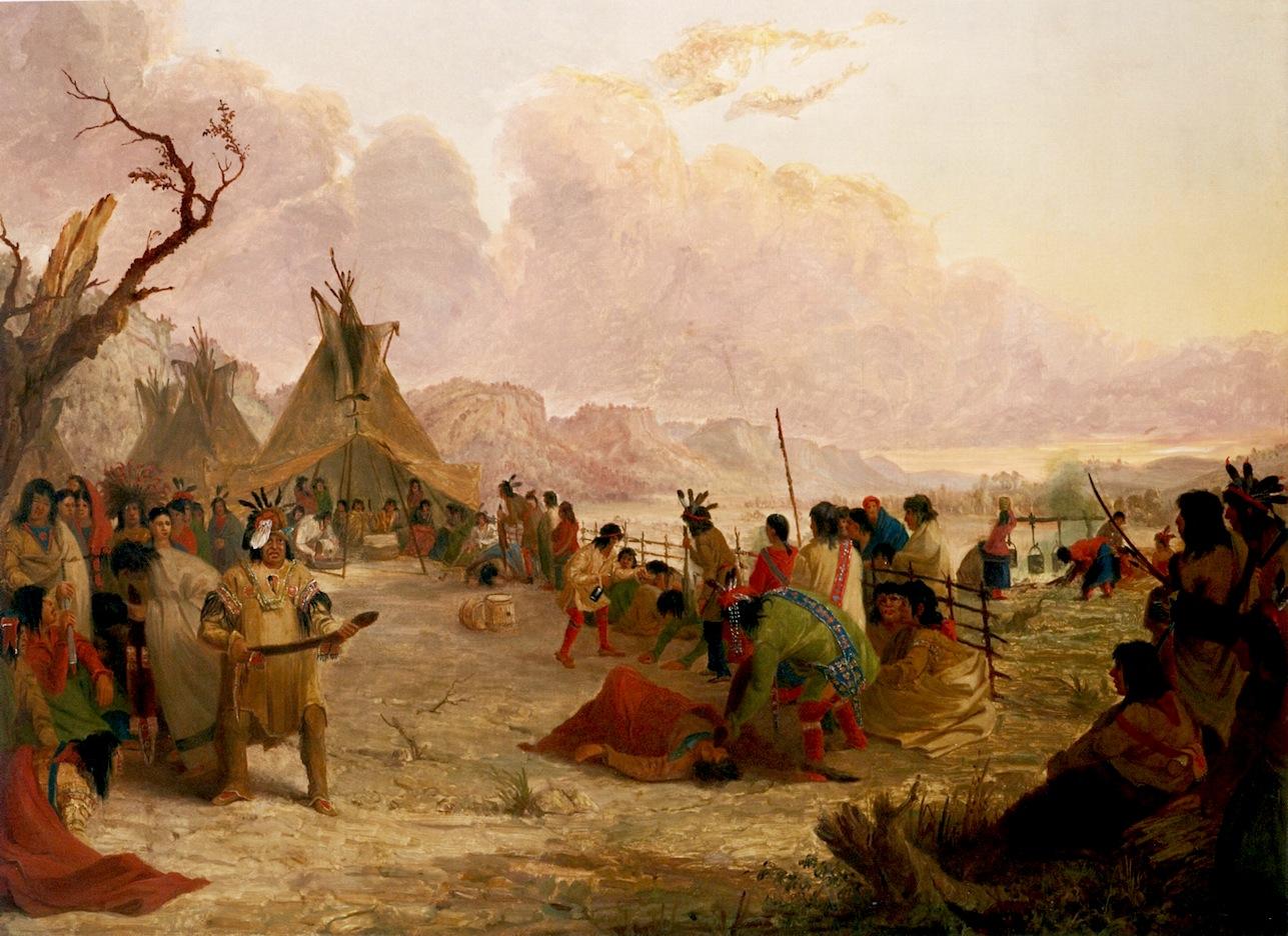 Indians: Viático De Vagamundo: Indians By Seth Eastman
