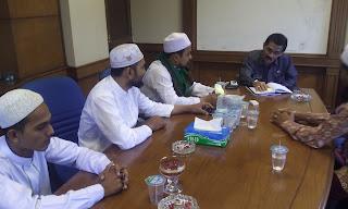 Bertemu Bupati Aceh Utara, FPI Dukung Qanun-Qanun Ini Dijalankan