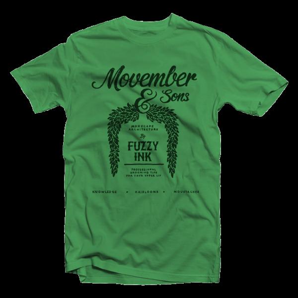 65b123401 Graphic Design  Movember T-shirt Designs by David Schwen – AMS ...