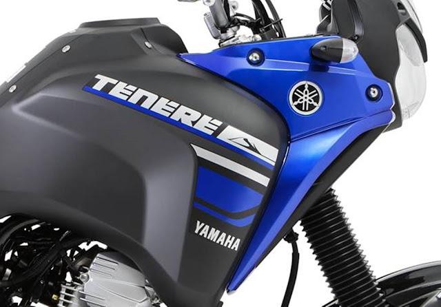 Yamaha XTZ 250 Ténéré 2018 - Matt Black