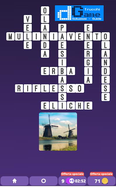 Soluzioni One Clue Crossword livello 16 schemi 9(Cruciverba illustrato)  | Parole e foto