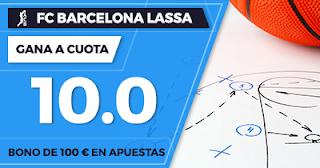 Paston Megacuota 10 Euroliga Barcelona Lassa vs Panathinaikos 13 octubre