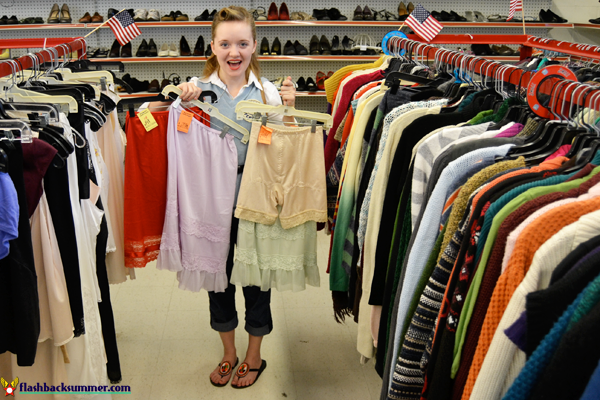 How to Find Vintage-Appropriate Styles in a Thrift Store