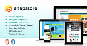 Snapstore offers a great choice for eCommerce and online store