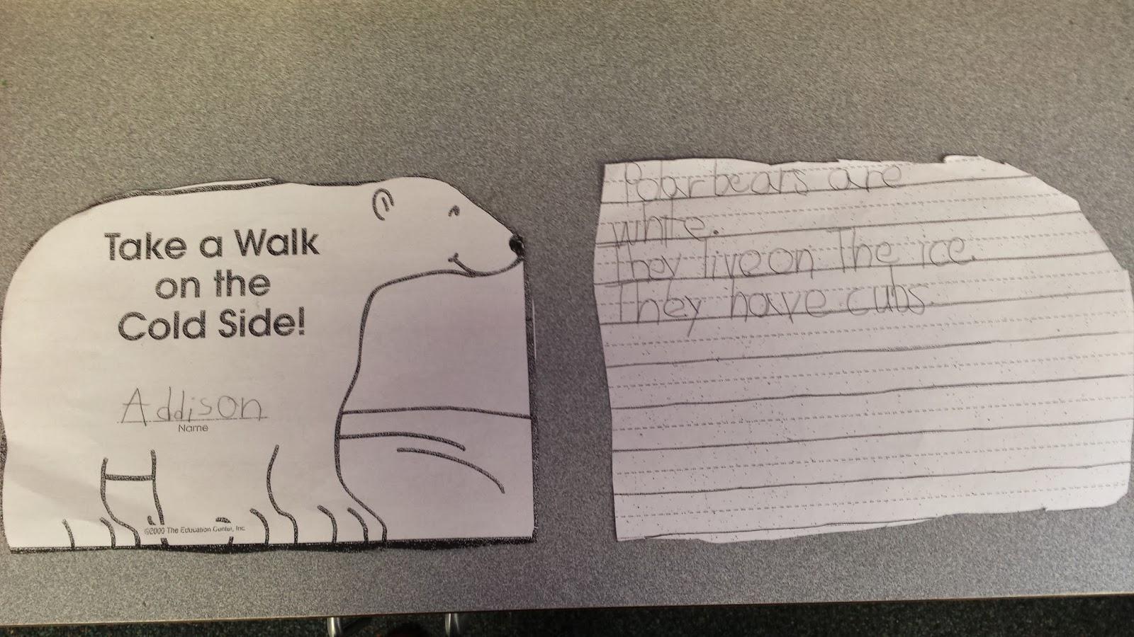 Colors And Kindergarten Polar Bears