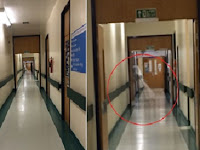 Pekerja Rumah Sakit Tangkap Hantu Bergaun Putih