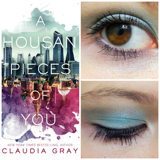 Book Cover Makeup Inspiration: A Thousand Pieces of You