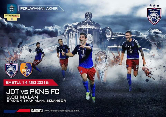 Live streaming final piala Fa 2016 jdt vs pkns