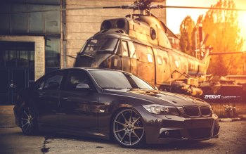 Wallpaper: Hot Car Automotive Tuning BMW E90