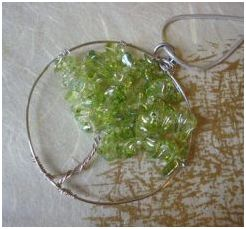 Wire jewelry tutorials the beading gems journal tree of life and string art pendants mozeypictures Image collections