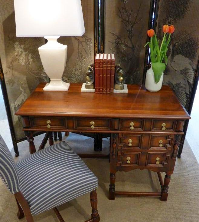 Michael Thomas Kittinger Furniture Co Desk And Chair