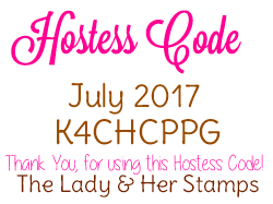 New July Hostess Code!