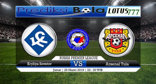 Prediksi Krylya Sovetov vs Arsenal Tanggal 29 Maret 2019