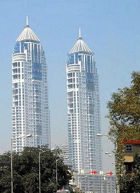 The Imperial pair buildings are the tallest building in India