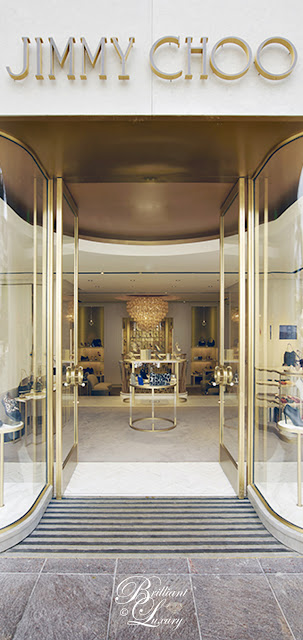 Brilliant Luxury ♦ Jimmy Choo Boutique in Beverly Hills