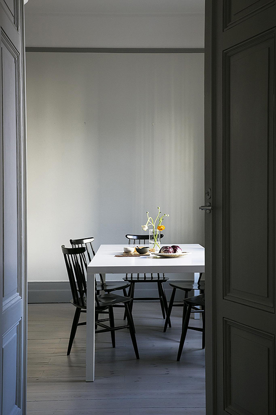 Minimalistic understated dining room | Fantastic Frank