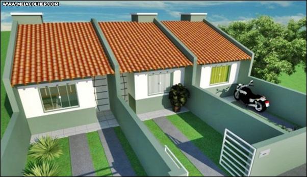 3 casas geminadas