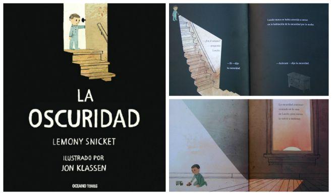 libro infantil superar miedo oscuridad: la oscuridad
