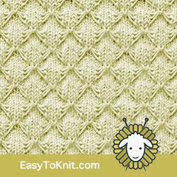 Slip Stitch Knitting 13: Smocking | Easy to knit #knittingstitches #knittingpattern