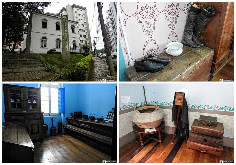 Museu Augusto Casagrande, em Criciúma - Diário de bordo - Encontro Rota Sul em Santa Catarina