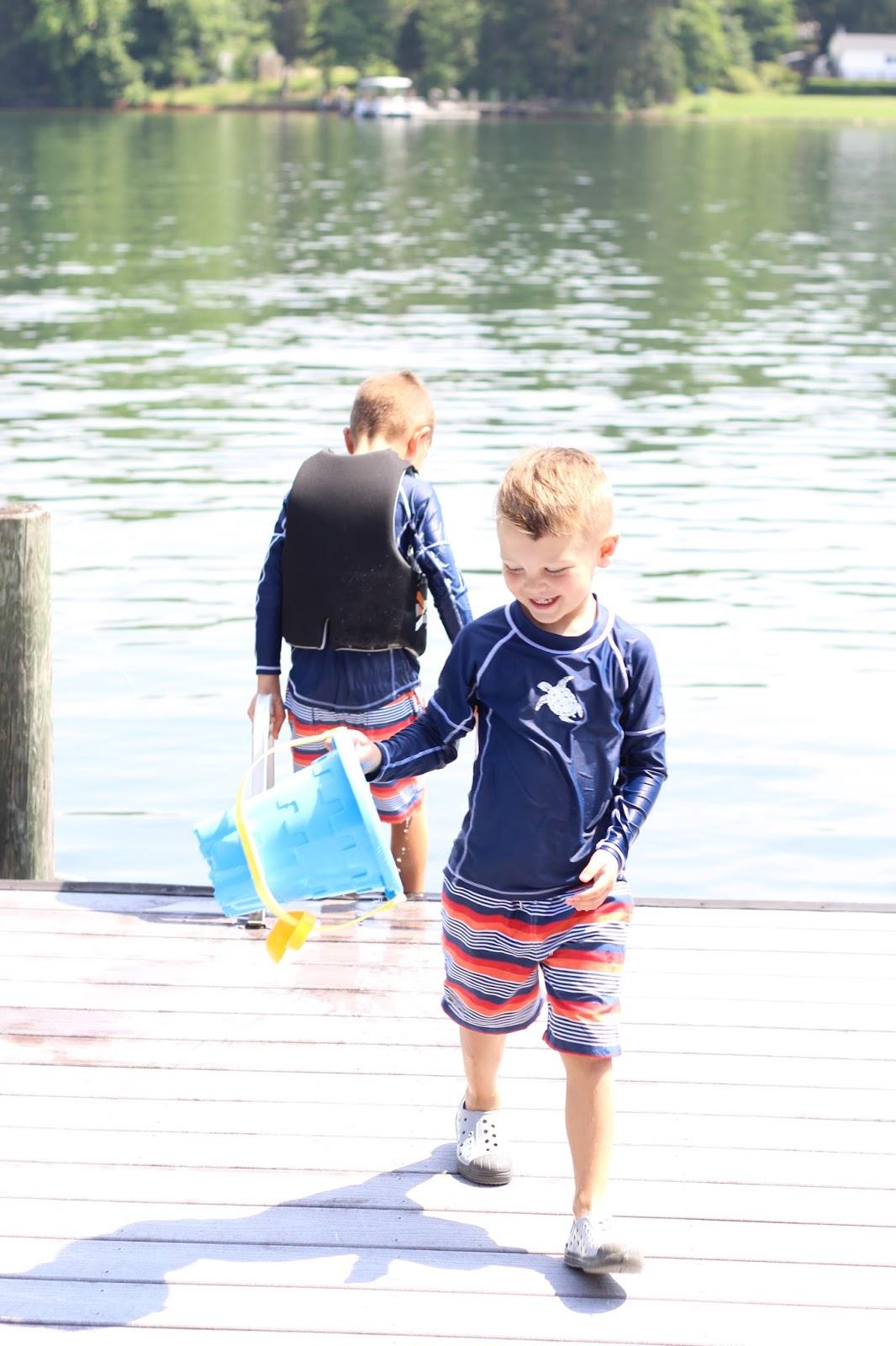 Lake Norman swimming