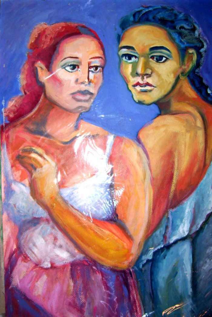 Современный аргентинский художник. Raquel Sarangello