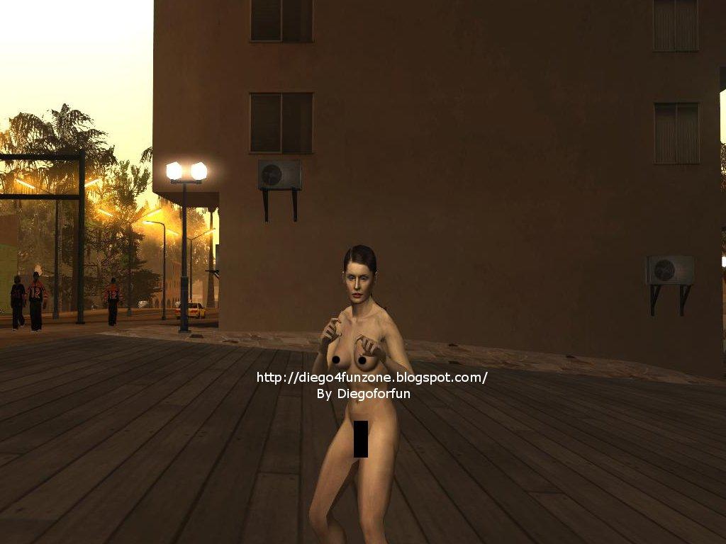Nude Mona Sax 4